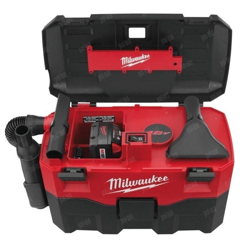 Milwaukee M18 VC-0 akumulatorowy odkurzacz budowlany 4933433601 Milwaukee - 1
