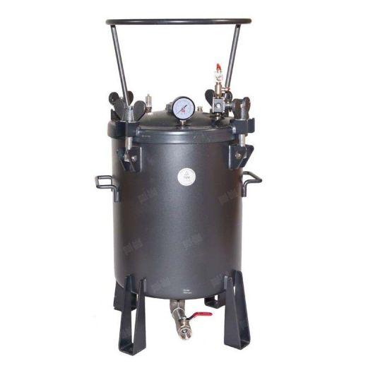 Sumake AT-A FG natryskowy zbiornik ciśnieniowy z mieszadłem pneumatycznym i dolnym wyjściem Sumake - 1