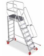 Schody aluminiowe jednostronne